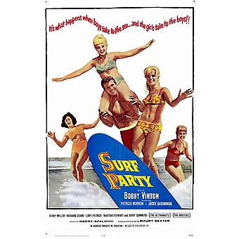 Surf Party Movie Poster (11 x 17)
