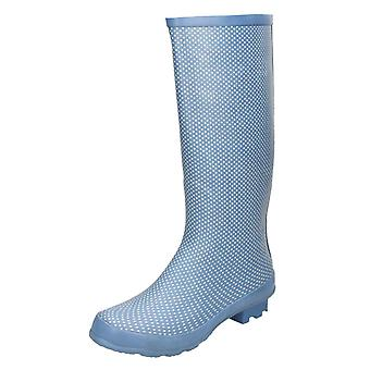 Ladies Spot su Dot stampa Welly X1079
