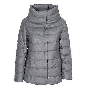 Herno women's PC0030D33520S9400 grey polyester Quilted Jacket
