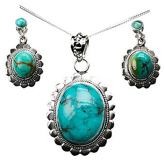 Indian Silver Necklace Earrings Set Collection