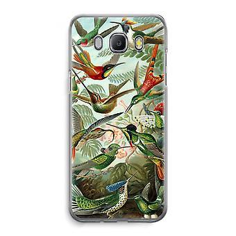 Samsung Galaxy J5 (2016) Transparent Case - Haeckel Trochilidae