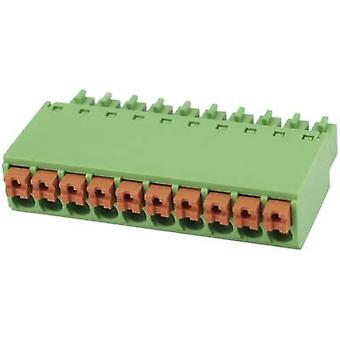 Pin enclosure - cable Total number of pins 12 Degson 15EDGKN-3.5-12P-14-00AH Contact spacing: 3.5 mm 1 pc(s)