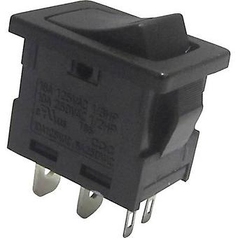 Toggle switch 250 V AC 6 A 1 x Off/On SCI R13-66L-