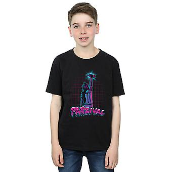 Ready Player One Boys Parzival Key T-Shirt