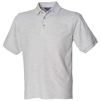 Henbury Mens Short Sleeve Ultimate Colours 65/35 Polo Shirt S,M,L,XL,XXL,3XL