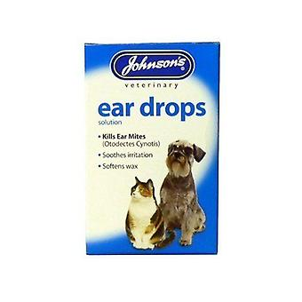 Johnson's Ear Drops for Cat and Dog 15ml x 2 pack
