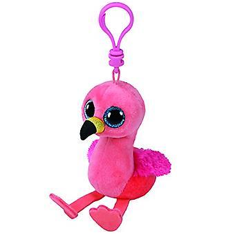 TY Beanie Boo Clip clé - Gilda le flamant rose