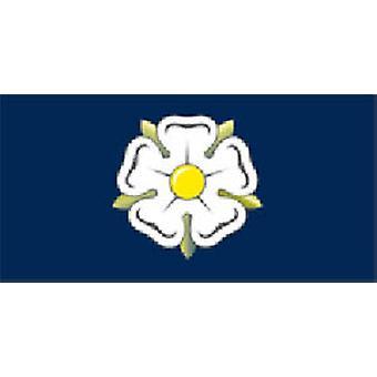 Yorkshire bandeira 5 pés x 3 pés com ilhós para pendurar