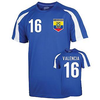 Ecuador Sports Training Jersey (valencia 16) - Kids