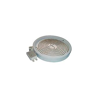Indesit Solarglow 1800 Watt keramische kookplaat Element