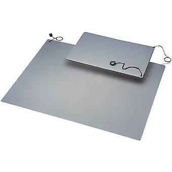 BJZ C-184 105P 10.3 ESD mat set Grey (L x W) 900 mm x 600 mm incl. PG strap, incl. PG connector, incl. PG cable, incl. c