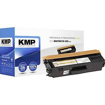 KMP Toner cartridge replaced Brother TN-325C, TN325C Compatible Cyan 3500 pages B-T39