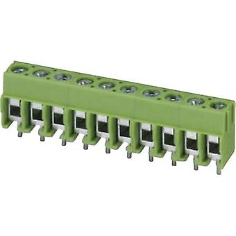 Phoenix Contact PT 1,5/ 2-5,0-H Screw terminal 2.50 mm² Number of pins 2 Green 1 pc(s)