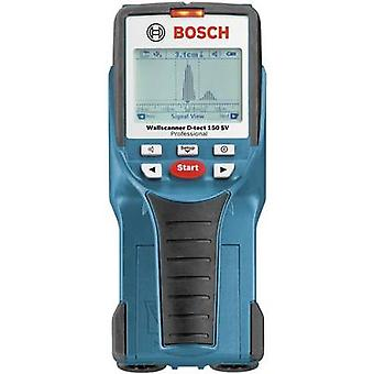 Bosch Professional Detector D-TECT 150 SV 0601010008 Locating depth (max.) 150 mm Suitable for Wood, Ferrous metal, Non-ferrous metal, Live wires, Plastic