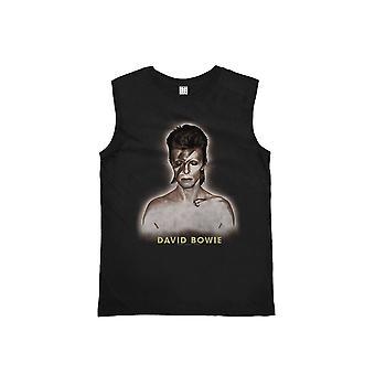 Amplified David Bowie World Tour '72-'73 Tour Black Vest M