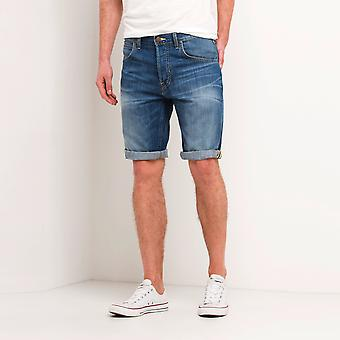 Lee 5 Pocket Shorts Blue Collective