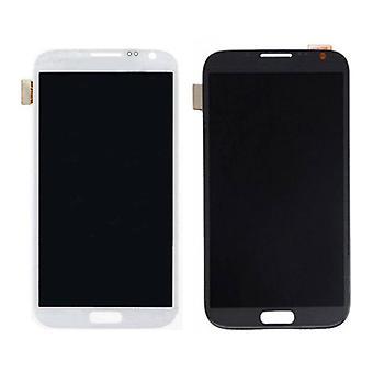 Roba Certified® Samsung Galaxy Note 2 N7100 schermo (Touchscreen + LCD + parti) A + qualità - nero / bianco