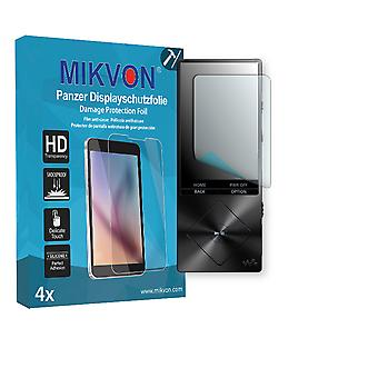 Sony NWZ-A15 Screen Protector - Mikvon Armor Screen Protector (Retail Package with accessories)