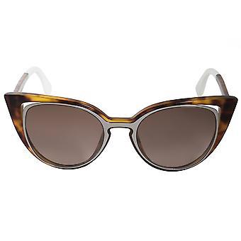 Fendi Cat Eye Sunglasses FF0136S NY2 J6 51
