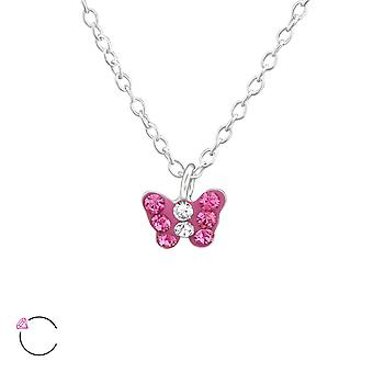 Papillon - 925 Sterling Silver Necklaces - W37646X