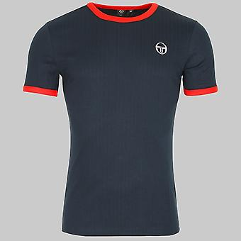 Sergio Tacchini Drop T-Shirt Navy / Red