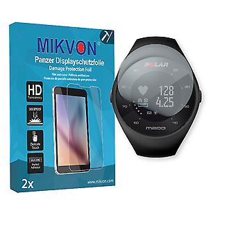Polar M200 Screen Protector - Mikvon Armor Screen Protector (Retail Package with accessories)