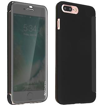 4Smarts interactive kyoto flip case for Apple iPhone 8 Plus/7 Plus - Black