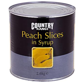 Country Range Peach Slices in Syrup