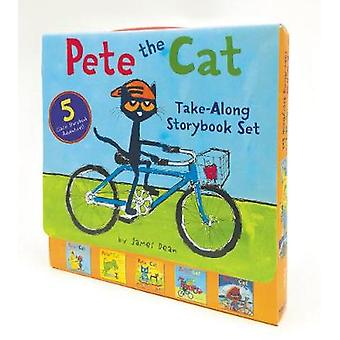 Pete the Cat Take-Along Storybook Set - 5-Book 8x8 Set by James Dean -