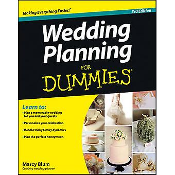 Wedding Planning For Dummies (3rd Revised edition) by Marcy Blum - 97