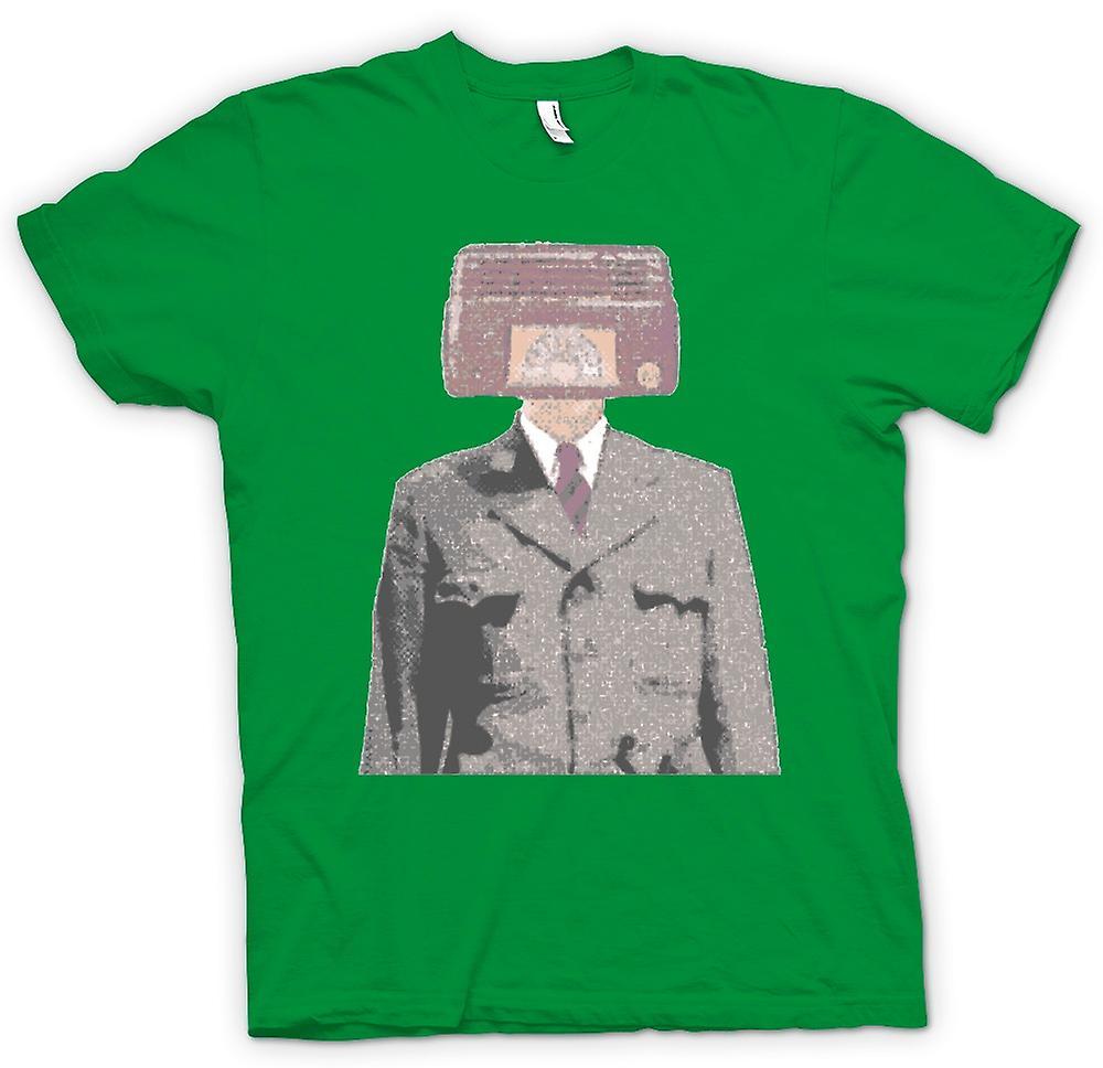 Herr T-shirt-Radiohead - Pop Art - Design