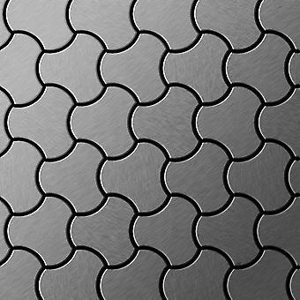Mosaico de metal sólido Acero inoxidable ALLOY Ubiquity-S-S-B