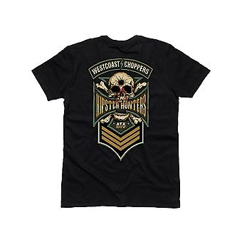 West Coast Choppers Black Hipster Hunters T-Shirt
