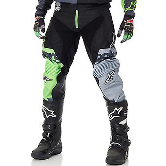 Alpinestars Green-Anthracite-Black 2018 Racer Flag MX Pant