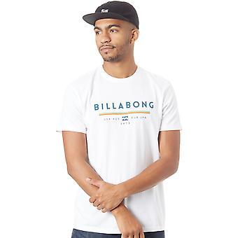Billabong vit FA18 Unity T-Shirt