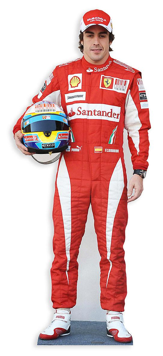 Fernando Alonso Lifesize Cardboard Cutout / Standee / Standup