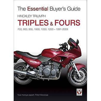 Hinckley Triumph Triples en Fours 750-900 door Peter Henshaw - 97818