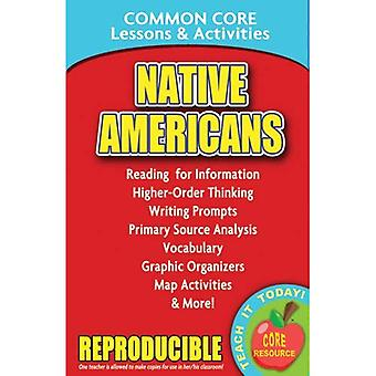 Native Americans: Common Core Lessons & Activities