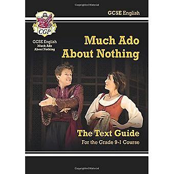 Grado 9-1 GCSE inglés guía del texto de Shakespeare - mucho ruido y pocas nueces