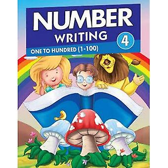 Number Writing 4 (Number Writing Series)