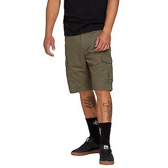 Volcom mannen Cargo Shorts ~ Miter II Cargo olijf