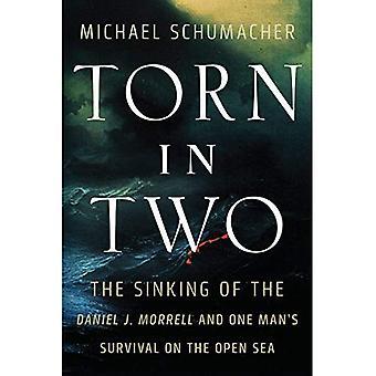 Zerrissene: der Untergang der Daniel J. Morrell und eines Mannes überleben auf dem offenen Meer