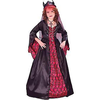 Devil Wife Child Costume