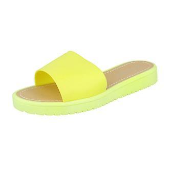 Las señoras Savannah Open Toe Slip en sandalias