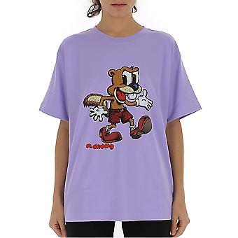 Marc Jacobs Purple Cotton T-shirt