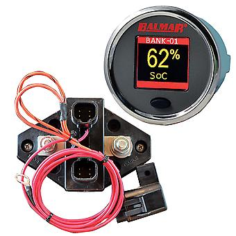 Balmar SG200 Batterie Monitor Kit w/Display Shunt & 10M Kabel - 12-48 VDC
