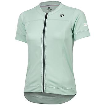 Pearl Izumi Mist Green Elite Escape Womens Short Sleeved Cycling Jersey