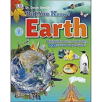 Tiesitkö? Earth