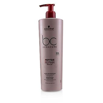Schwarzkopf BC Bonacure Peptide Repair Rescue Micellar Shampoo (For Fine to Normal Damaged Hair) 500ml/16.9oz