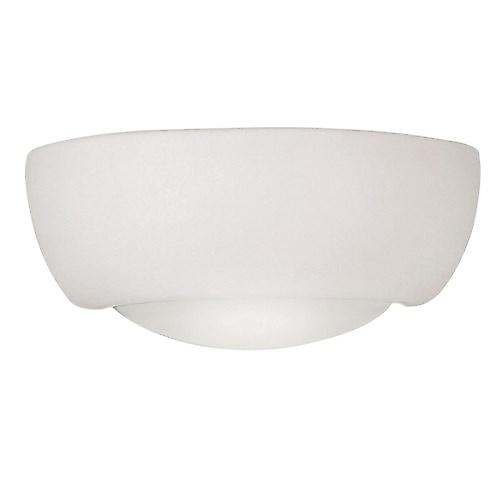 Endon UG-WB-X Unglazed Ceramic Wall Uplighter - Over Paintable